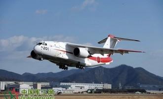 日本自卫队已购6架C-2运输机 最大装载量30吨