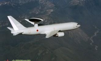 """日本""""警戒""""钓鱼岛空中预警机首次公开训练"""