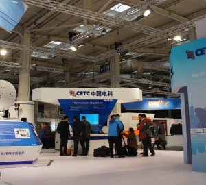 中国军工亮相世界最大IT展