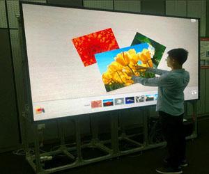 """可触控、可书写LED,引领""""交互大屏""""新体验"""