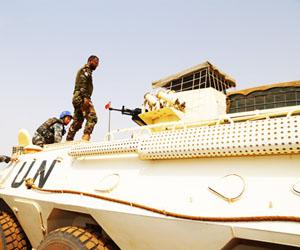 中国第五批赴马里维和工兵分队通过联马团首次战备评估