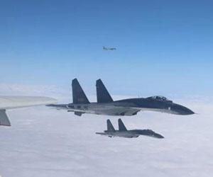 绕岛巡航!中国空军锤炼维护国家主权和领土完整能力