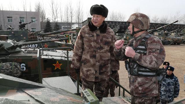 习近平视察中部战区陆军某师并发表重要讲话