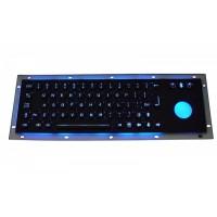 背光键盘 嵌入式金属键盘 不锈钢键盘 工业键盘 防暴防水耐用