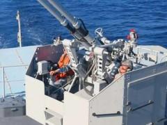 南部战区海军某勤务船大队组织全要素海上训练