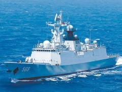 海军某驱逐舰支队组织多型舰艇检验攻防战法
