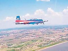 """空军第十一批女飞行学员迎来""""空战生涯""""首次编队单飞"""